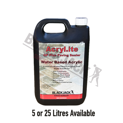 Acryl-ite® GP Plus Paving Sealer, Water Based Sealer For Paving, Block Paving, Concrete, Stone