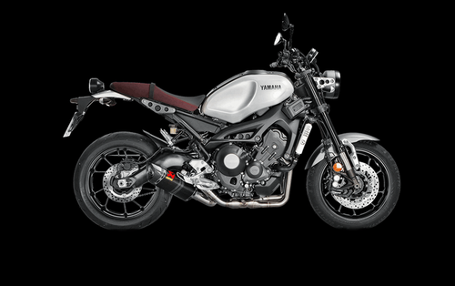 AKRAPOVIC S Y9R2 AFC XSR900 COMPLETE FULL EXHAUST SYSTEM RACING LINE STAINLESS HEADER COLLECTOR MID LINK