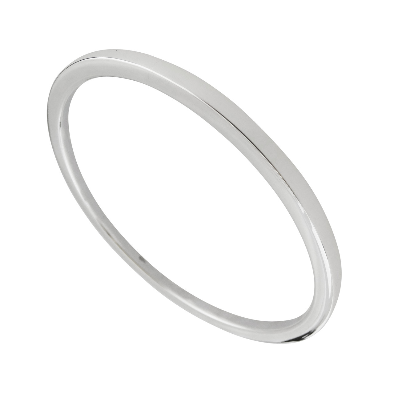 view sterling om jewelry bangles free quick bracelet plain shape size silver bangle oxidized