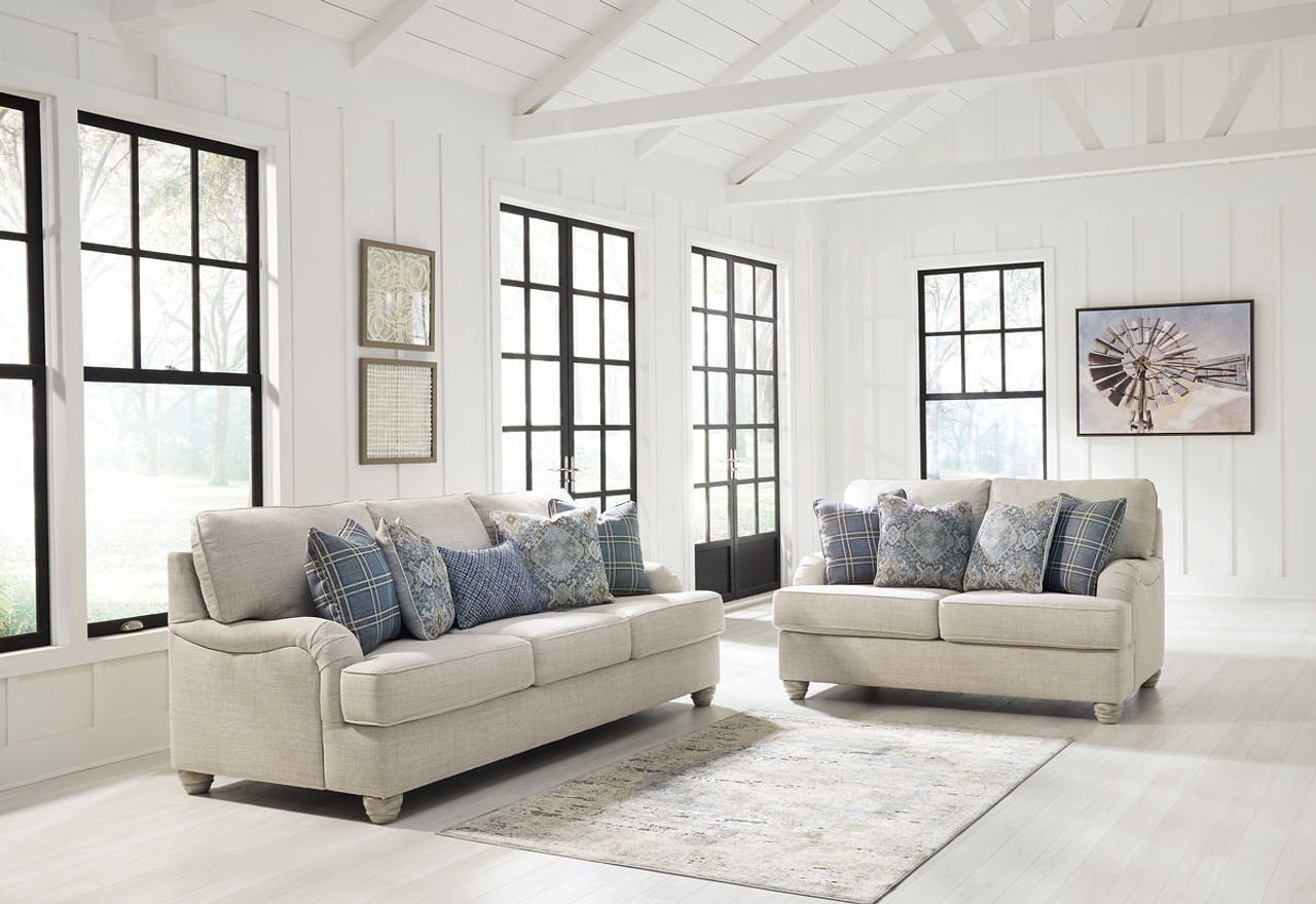 The Traemore Linen Sofa & Loveseat available at Logan\'s Furniture ...