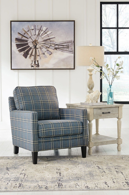 ... Traemore Linen Sofa, Loveseat, Chair And A Half, Ottoman U0026 Accent ...