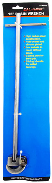 "15"" Basin Wrench with FREE shipping"