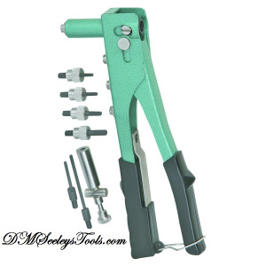 Riv Nut Riveter Kit 3 different Riveter TOOLS in 1 new with FREE Shipping