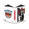 Ultra Pro 9-Pocket PRO Binder TRANSFORMERS - Optimus Prime