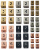 Metallic Dice Games - 16mm D6 (Set of 6) - Gold