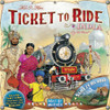 Ticket To Ride - India & Switzerland - Map Collection #2 - Board Game - Days of Wonder
