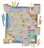 Ticket To Ride - France and Old West Map - Map Collection #6 - Board Game - Days of Wonder