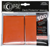 Ultra Pro ECLIPSE 2.0 PRO-Matte Deck Protector - Std Size Non-Glare Card Sleeves - 100 Count - PUMPKIN ORANGE