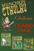 Munchkin Cthulhu COMBO PACK - Base Game + 3 expansion packs!