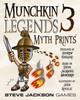 Munchkin Legends 3 - Myth Prints - Card Game Expansion