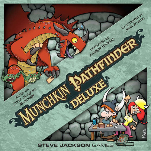 Munchkin - Pathfinder Deluxe - The Card Game - Steve Jackson Games