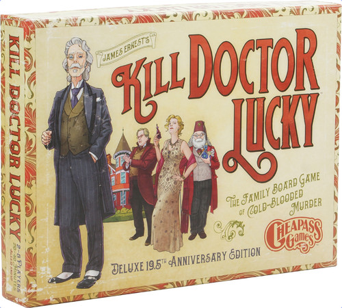 Kill Doctor Lucky - Ann. Edition - The Board Game - Cheapass Games