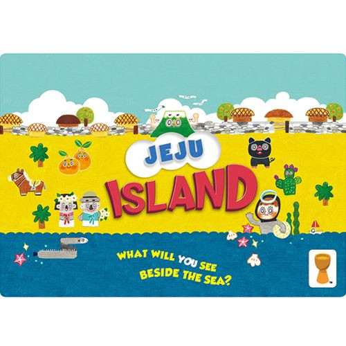 Jeju Island - A Family Holiday Board Game  - Grail Games