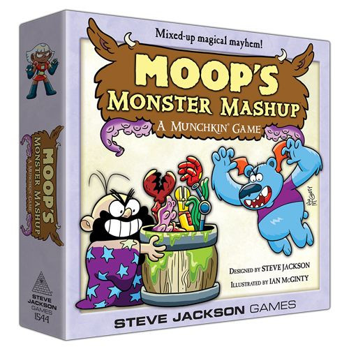 Moop's Monster Mashup - The Card Game - Steve Jackson Games