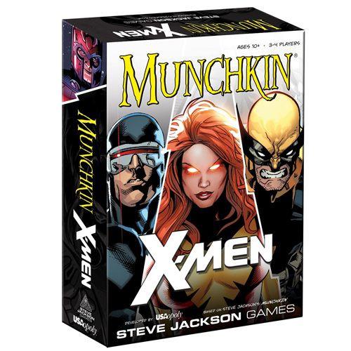 Munchkin X-Men (Base Set) - The Card Game - USAopoly