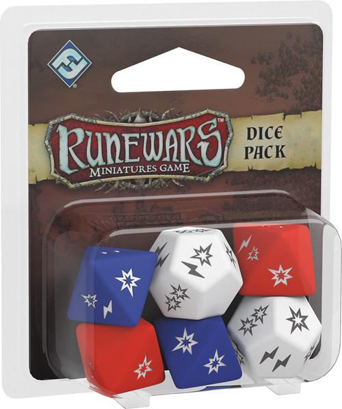 RuneWars Miniatures Game - Accessories - Dice Pack - Fantasy Flight