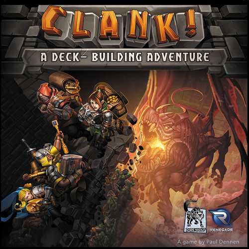 Clank! A Deck Building Dungeon Game - Renegade Games