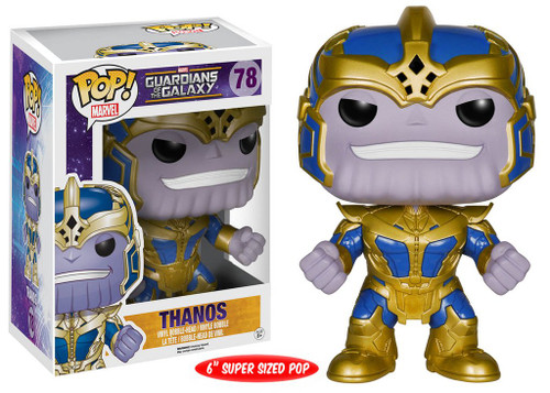 POP! Vinyl Figure - Marvel Comics - #78 - Guardians of the Galaxy - THANOS - Glow In the Dark