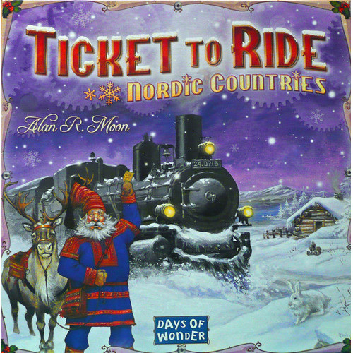 Ticket To Ride - Nordic Countries - Board Game - Days of Wonder