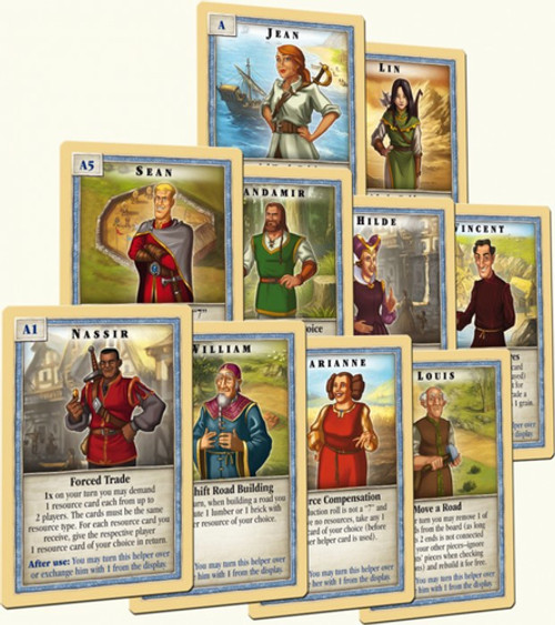 The Settlers of CATAN - Scenario - The Helpers of Catan - Mayfair Games