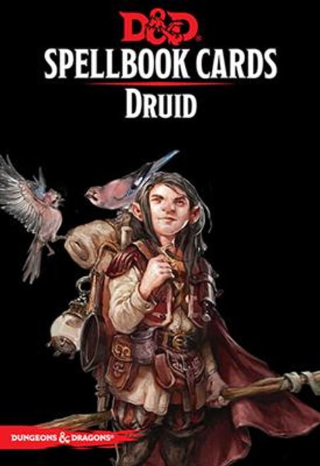 Dungeons and Dragons RPG - Spellbook Cards - Druid Deck (131 cards) - Gale Force 9