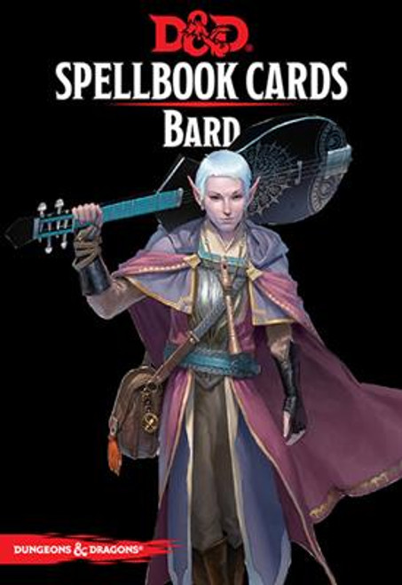 Dungeons and Dragons RPG - Spellbook Cards - Bard Deck (128 cards) - Gale Force 9