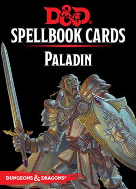 Dungeons and Dragons RPG - Spellbook Cards - Paladin Deck (69 cards) - Gale Force 9