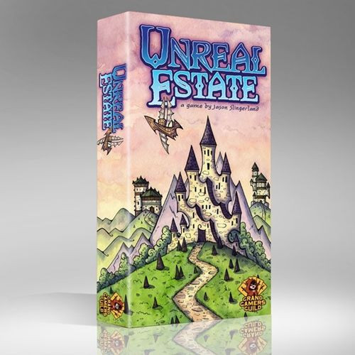 Unreal Estate - A Card Drafting Real Estate Game - Grand Gamers Guild