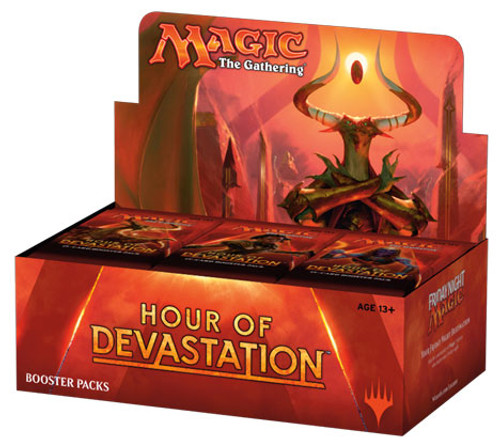 Magic the Gathering - Hour of Devastation 2017 - Booster Packs - Wizard of the Coast