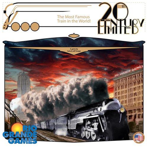 20th Century Limited - A Historic Trains Board Game - Rio Grande Games