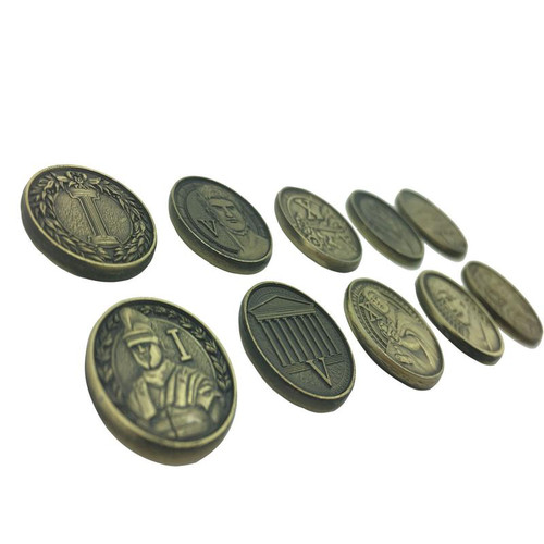 "Norse Foundry - Adventure Coins - Variety Pack  (Set of 10) ""Roman"""