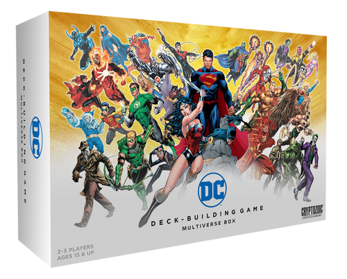 DC Comics Deck Building Game - Multiverse Box + Expansion - Cryptozoic Entertainment