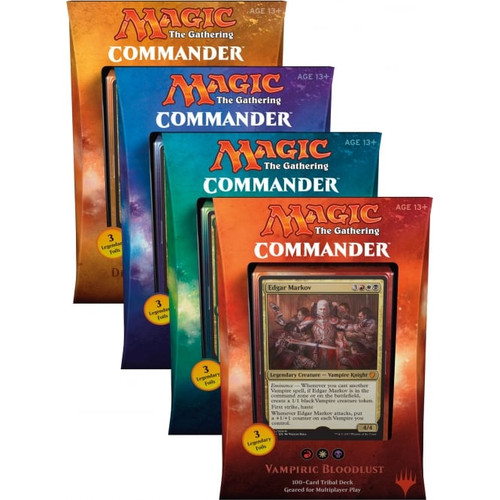 Magic the Gathering - Commander 2017 - Set - Wizard of the Coast