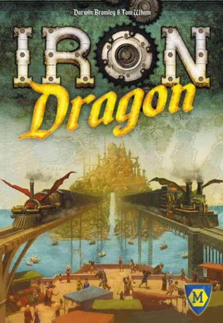 Iron Dragon - A Railroad Board Game - Mayfair Games