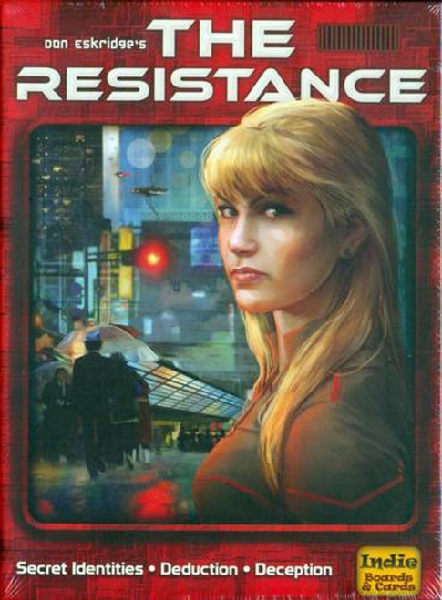 The Resistance - A Group Game of Bluffing and Intrigue! Indie Boards & Cards