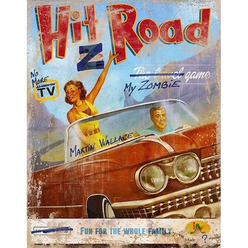 Hit Z Road - Zombie Apocalypse Roadtrip Game - Asmodee Games