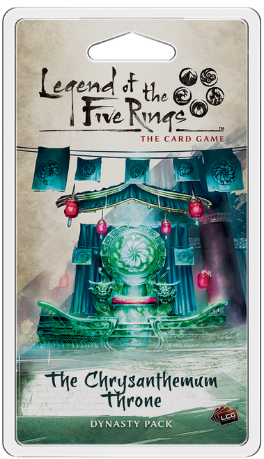 Legend of the Five Rings LCG: The Chrysanthemum Throne Dynasty Pack