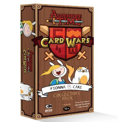 Adventure Time Card Wars - Fionna VS. Cake Collector's Pack - Cryptozoic