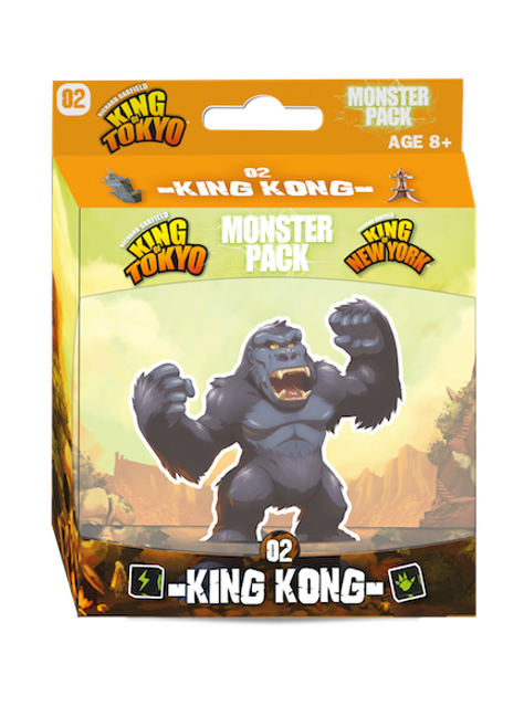 King of Tokyo - King Kong - Monster Pack Expansion #2 -  IELLO Games