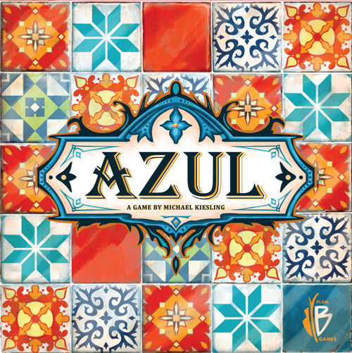 Azul - A Beautiful Tile-Laying Game - Plan B Games
