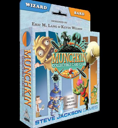 Munchkin Collectible Card Game: Wizard/Bard Starter Season 1