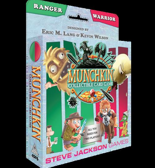 Munchkin Collectible Card Game: Ranger/Warrior Starter Season 1