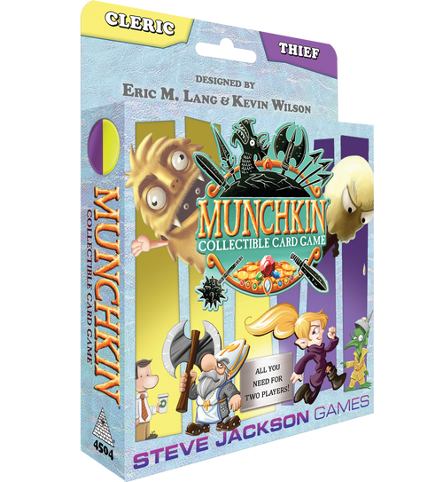 Munchkin Collectible Card Game: Cleric/Thief Starter Season 1