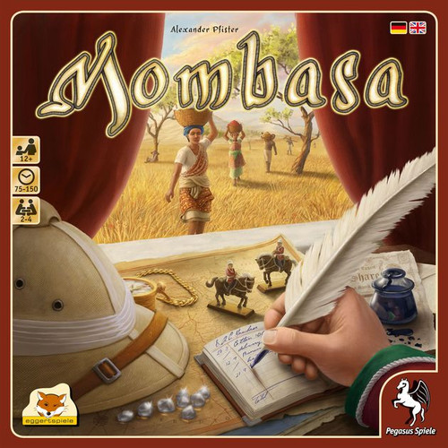 Mombasa - Trading on the African Continent Board Game - Eggertspiele