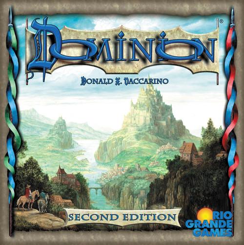 Dominion - 2nd Edition - Base Set Card Game - Rio Grande Games