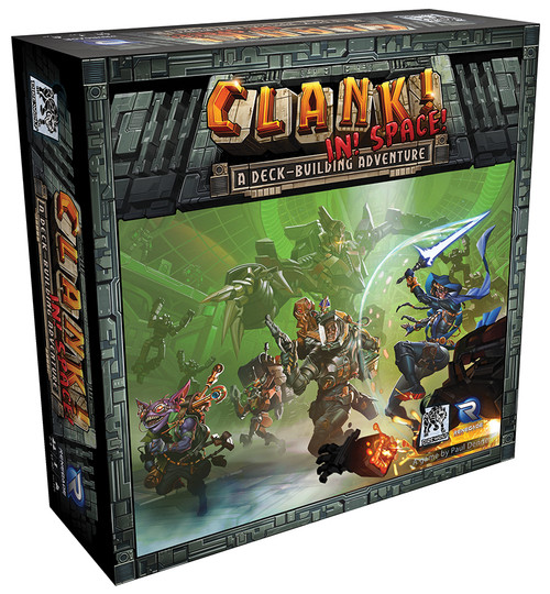Clank! In! Space! - A Deck Building Dungeon Game - Renegade Games