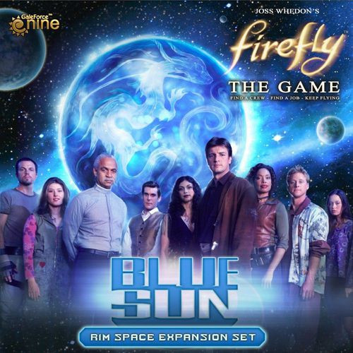 Firefly - The Game - Blue Sun Rim Space Expansion - Gale Force 9