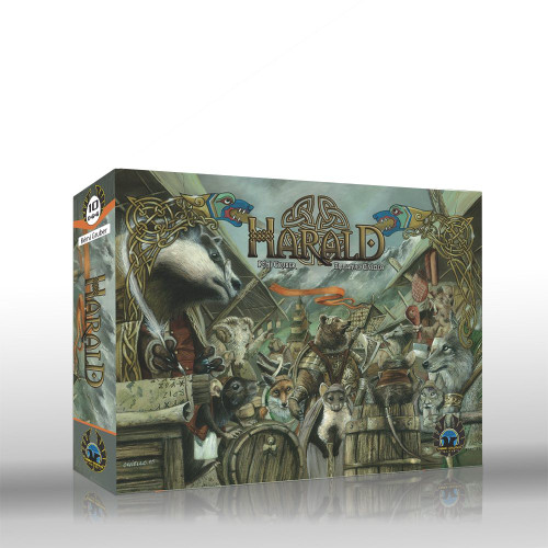 Harald- A Card Game of  Intrigue and Influence - Eagle Gryphon Games