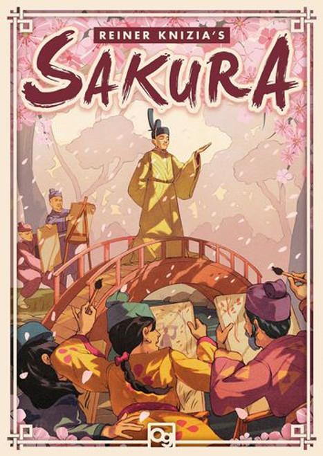 Sakura - A Tactical Chance Game of Japan - Osprey Games