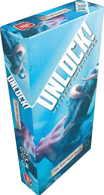 Unlock! The Nautilus' Trap - A Deep Sea Escape Game - Asmodee